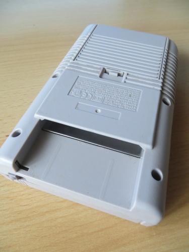 Gameboy - Rückseite Modulschacht