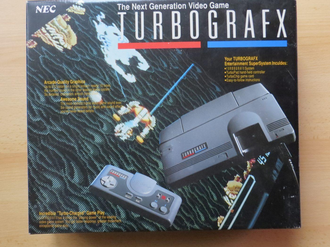 TurboGrafx-Schachtel-Vorderseite