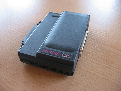 Atari Portfolio - Parallel Interface