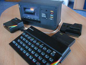 Sinclair Spectrum 48k mit Zubehör