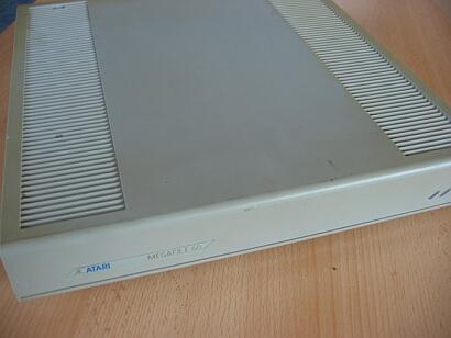 Atari Megafile 60 - Frontansicht