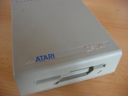 Atari SF 314 - Frontansicht