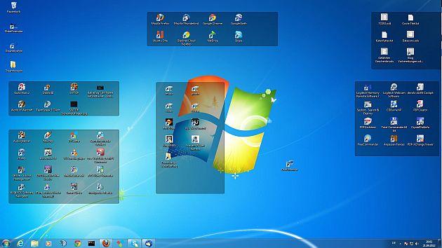 Desktop organisieren