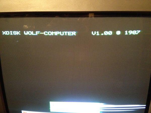 Sinclair QL Disk Interface Wolf Computer