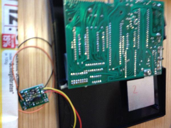 ZX81SCP - Einbau