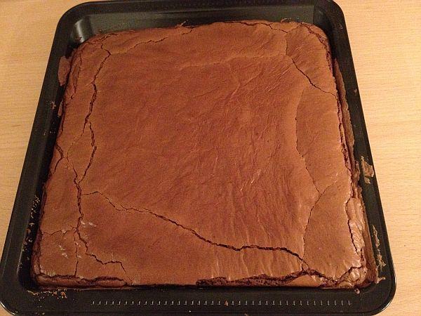 Brownies - frisch aus dem Ofen