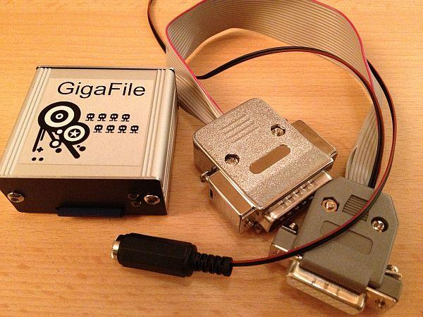GigaFile zusammen mit Kabel