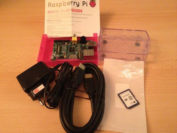 Raspberry Pi von RS komplett