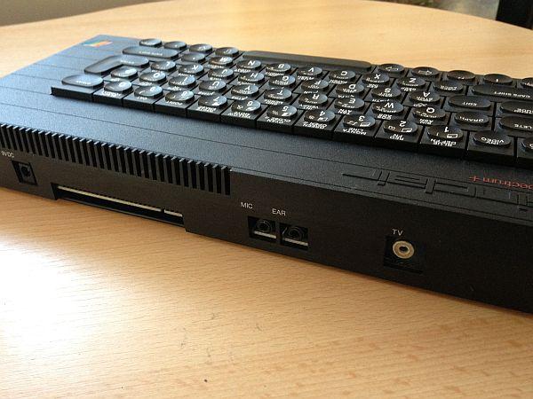 Sinclair Spectrum +48K Rückseite