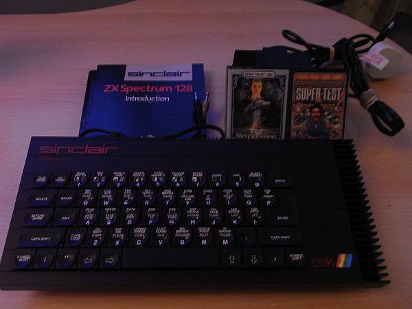 Sinclair ZX Spectrum 128K inkl. Zubehör