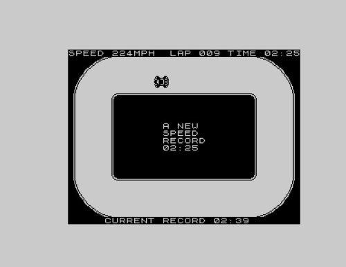 Jim Bagley's ZX81 Racing - Kurs 1