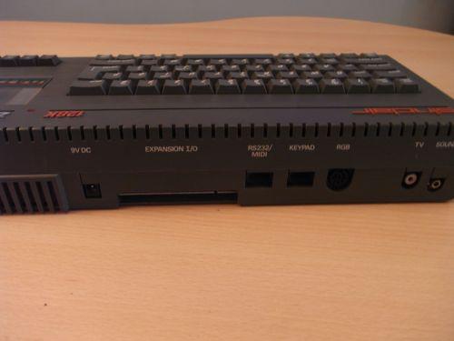 Sinclair Spectrum +2 Rückseite