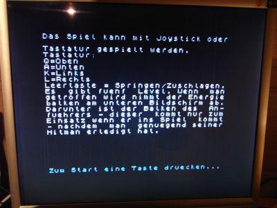 """Spectranet """"boot.zx"""" - Anzeige der Hilfedatei"""