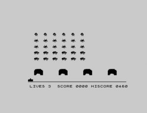 Space Invaders InGame