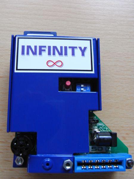 C64SD V2.0 INFINITY - Rückseite