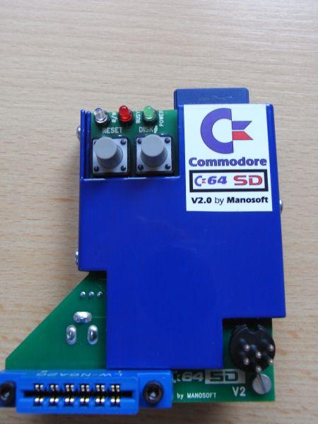 C64SD V2.0 INFINITY - Vorderseite