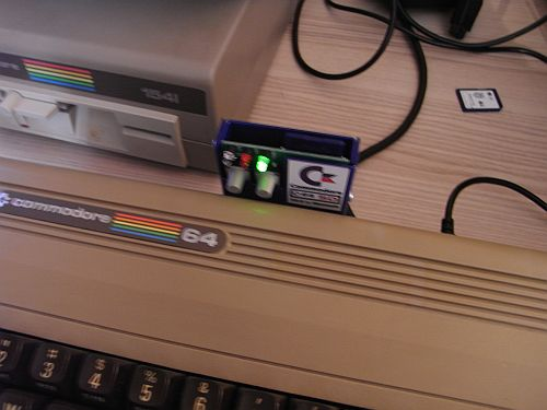 C64SD V2.0 INFINITY - von vorne