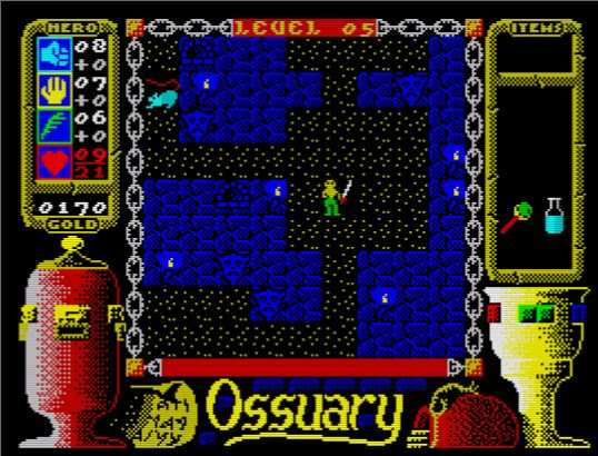 Sinclair Spectrum - Ossuary