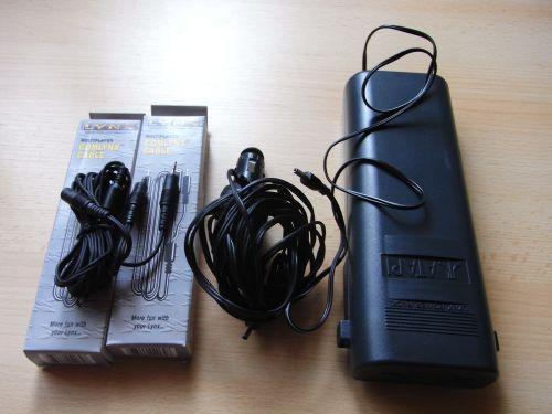 Atari Lynx Zubehör: Batteriepack und Comlynx Kabel