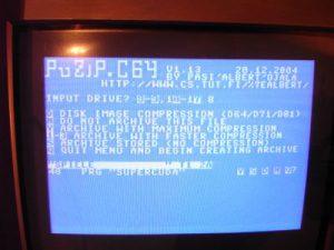 C64 PUZIP - Komprimierung wählen