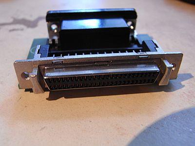 GigaFile SCSI-Adapter - SCSI-Anschluß