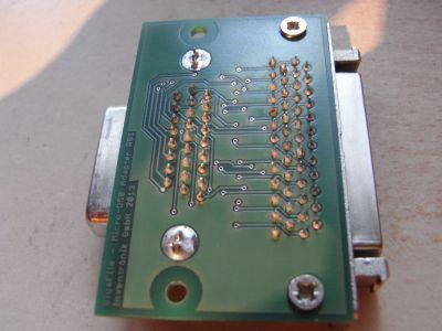 GigaFile SCSI-Adapter - Unerseite
