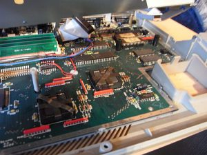 Hauptplatine Atari 1040STE - vor dem Umbau