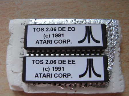 Mega STE - TOS 2.06 Chips