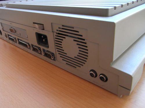 Mega STE - Sound, Strom, 2 x Seriell, Parallel, Schalter