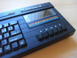 Sinclair ZX Spectrum +2A Kasettenlaufwerk