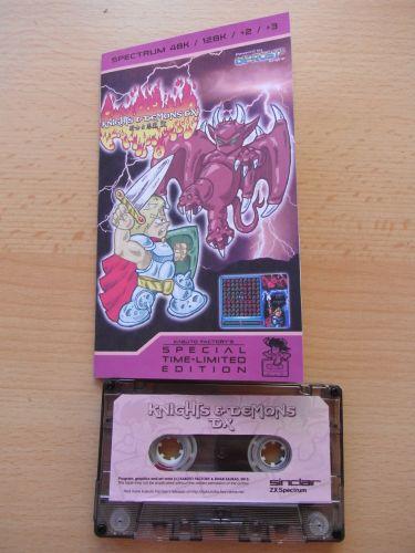 Knight & Demons DX - Kassette und Beschreibung