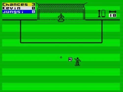 ZX Striker - Spielfeld