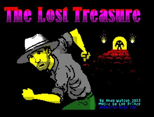 Lost Treasure - Ladescreen