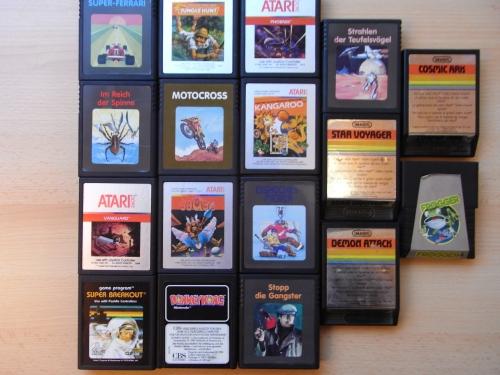 Atari VCS Spiele