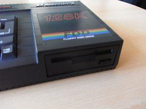 Sinclair ZX Spectrum +3 Diskettenlaufwerk
