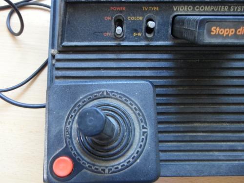 VCS 2600 vor der Reinigung