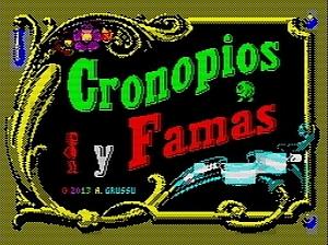 Cronopios und Famas - Titelscreen