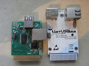 links: NetUSBee aus 2006 - rechts: NetUSBee aus 2013