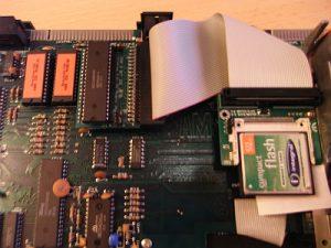 Sinclair ZX Spectrum +3 Z80 UIDE eingebaut