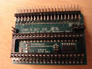 Z80 8 Bit IDE Adapter