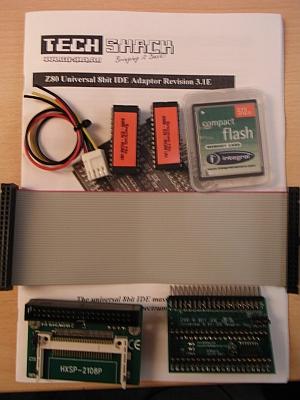 Z80 UIDE Kit komplett