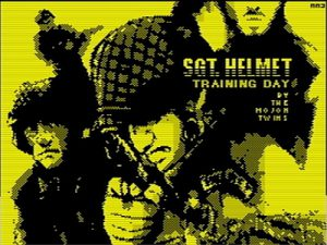 Sgt. Helmet Training Day - Ladescreen