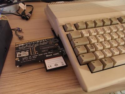ACA-500 an Amiga 500