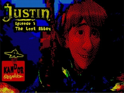Justin and The Lost Abbey - Ladescreen