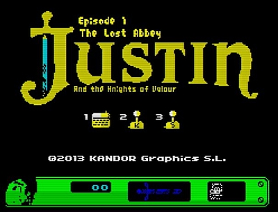 Justin and The Lost Abbey - Menü
