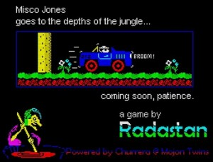 Misco Jones - Raiders of the lost Vah-Ka - Ladeschirm