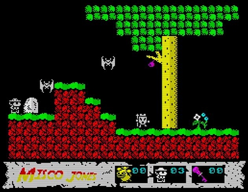 Misco Jones - Raiders of the lost Vah-Ka - Screen