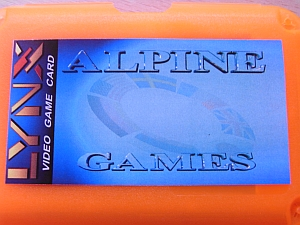 Alpine Games Schachtel