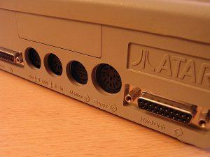 Atari Mega ST 2 Rückseite