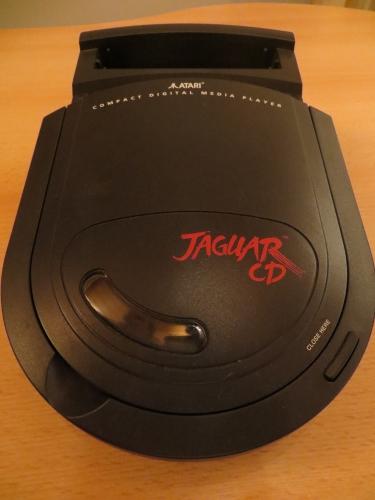 Jaguar CD von oben
